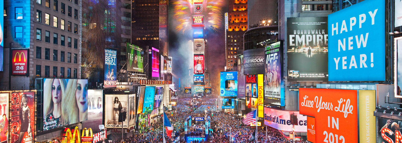 New York – Happy New Year